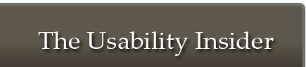 The Usability Insider