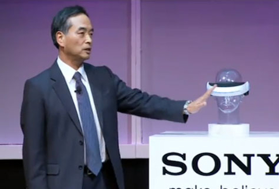 Sony Predicts Return Of Virtual Reality