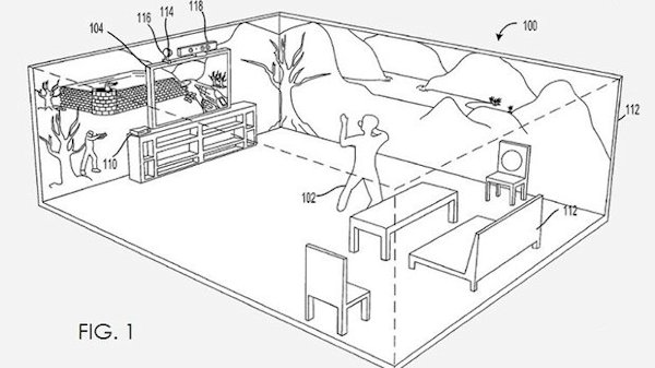 MS Immersive Room Patent