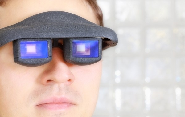 Your Eyes Can Control Augmented Reality Glasses