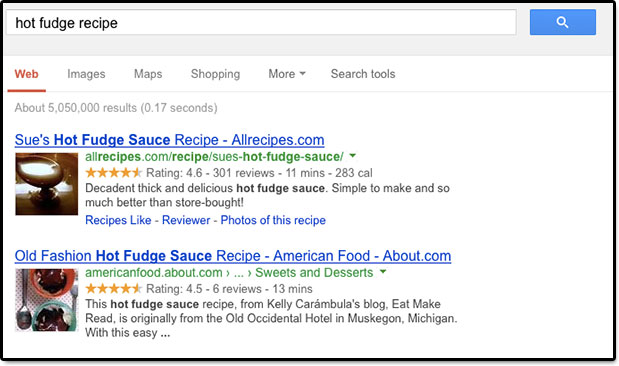 rich SEO snippets