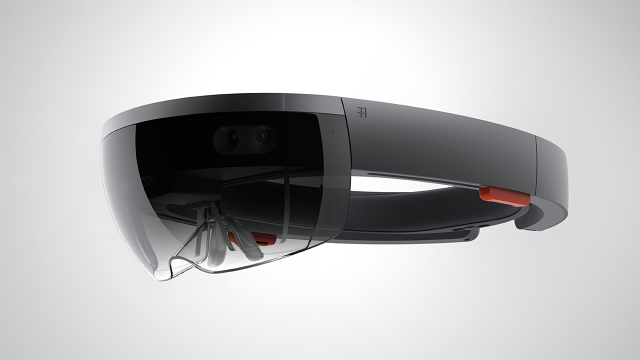 Microsoft's HoloLens augmented-reality visor