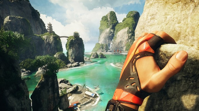 The Climb Uses The Oculus Rift's Motion-controller Technology To Let The Player Control The Hands Of The Protagonist. Photograph: Crytek